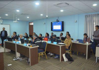 Training: Survey Data Analysis Trainees in Class (2016)