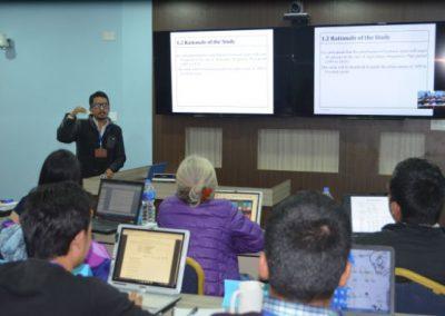 Training: Survey Data Analysis - Trainee Presentation (2016)
