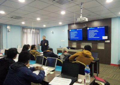 Training: Survey Data Analysis - Class by Dr. Ghimire (2016)