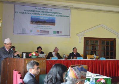 Workshop: Integrating Social and Agriculture Science (2014)