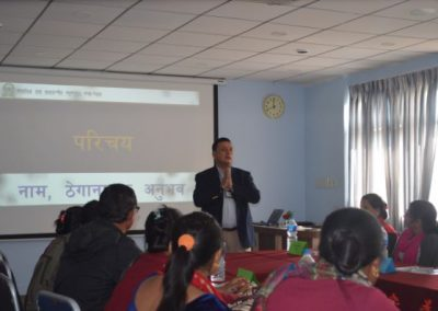 Event: Respondent Interaction - Introduction by Dr. Ghimire (2016)
